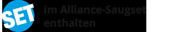 im Alliance-Saugset enthalten